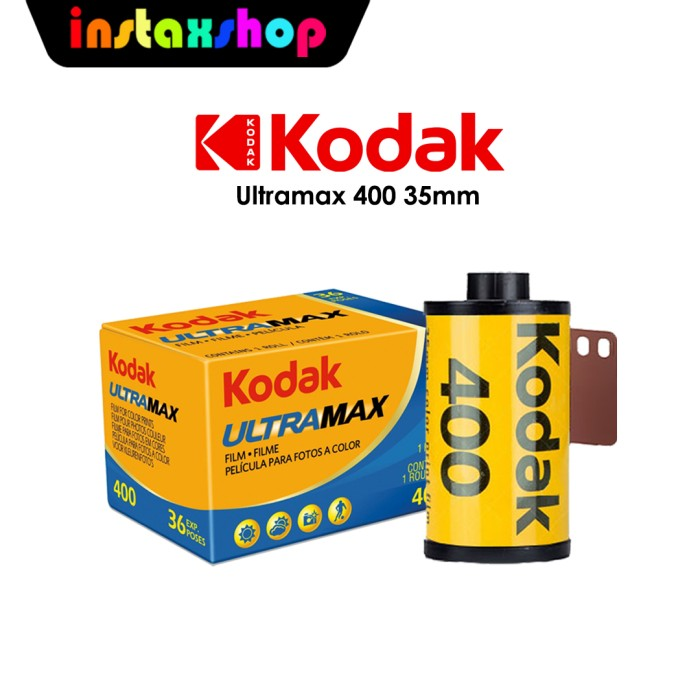 Foto Produk Roll Film Kodak Ultramax 400 35mm dari Instaxshop Official