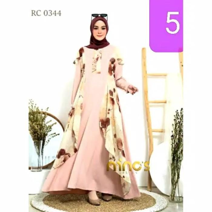 Jual Gamis Ninos Design Ori Terbaru Grc 344 Safira Collection 5 All Size Kab Demak Safira Collection Dmk Tokopedia