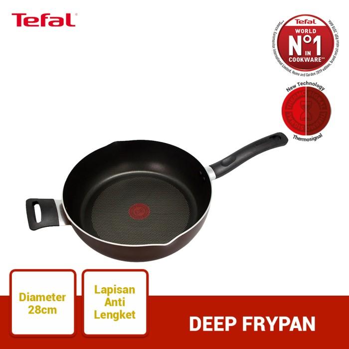 Foto Produk Tefal Day by Day Deep Frypan 28cm dari TefalKrups Official