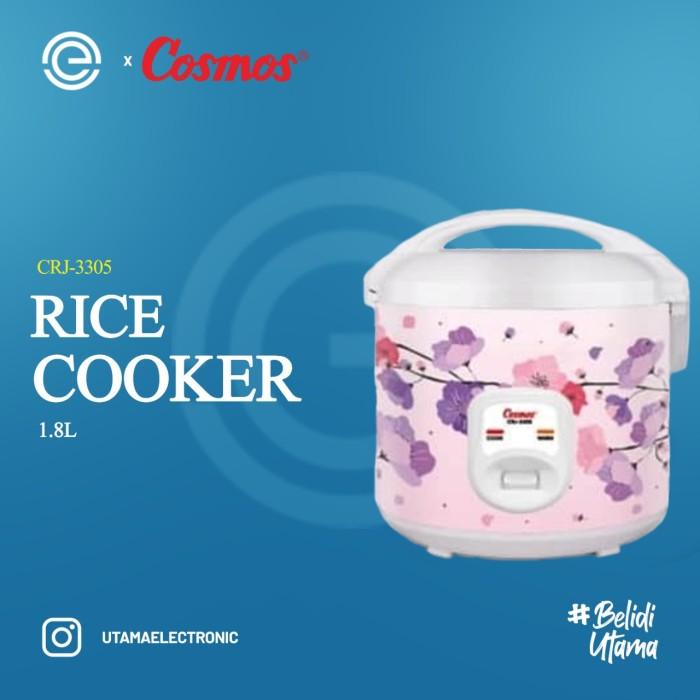 Foto Produk COSMOS Rice Cooker 1.8 Liter CRJ-3305 dari UTAMA_ELECTRONIC