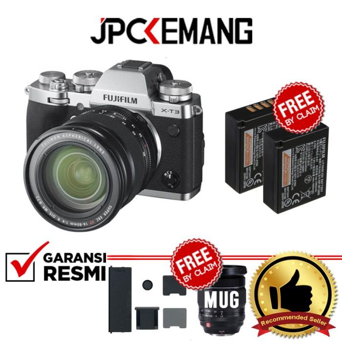 Foto Produk Fujifilm XT3 Fujifilm X-T3 Fuji XT3 kit 16-80mm GARANSI RESMI - Abu-abu dari JPCKemang