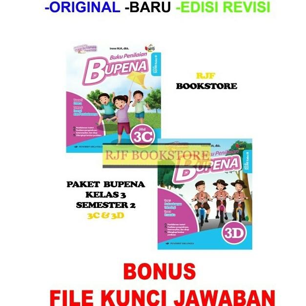 Jual Paket Bupena Bk Penilaian 3c 3d K13n Plus Kunci Jawaban Jakarta Timur Rjfstore Tokopedia