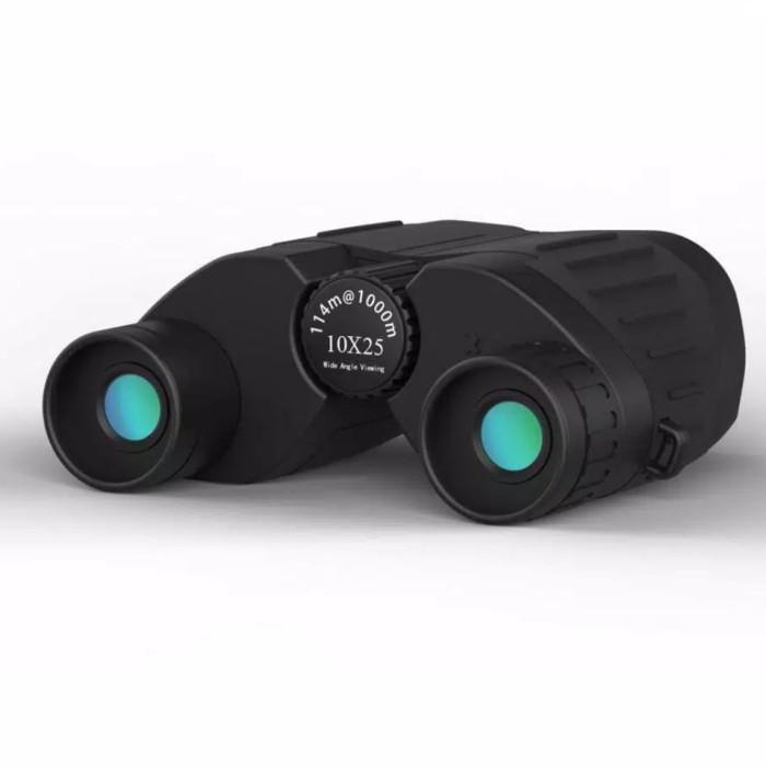 Foto Produk SUNCORE Teropong Binocular Outdoor Magnification 114-1000m 10x25 - Bla dari Y3 Notebook