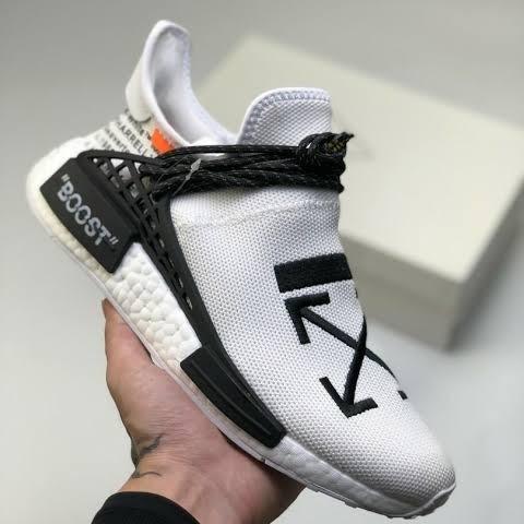 Adidas Human Race Offwhite full white