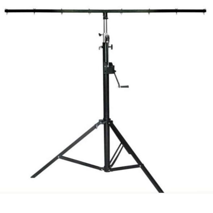 Foto Produk Tripod stand lighting parled 1,7m-4m up to 80kg model kerek dari DUNIA LAMPU LIGHTING