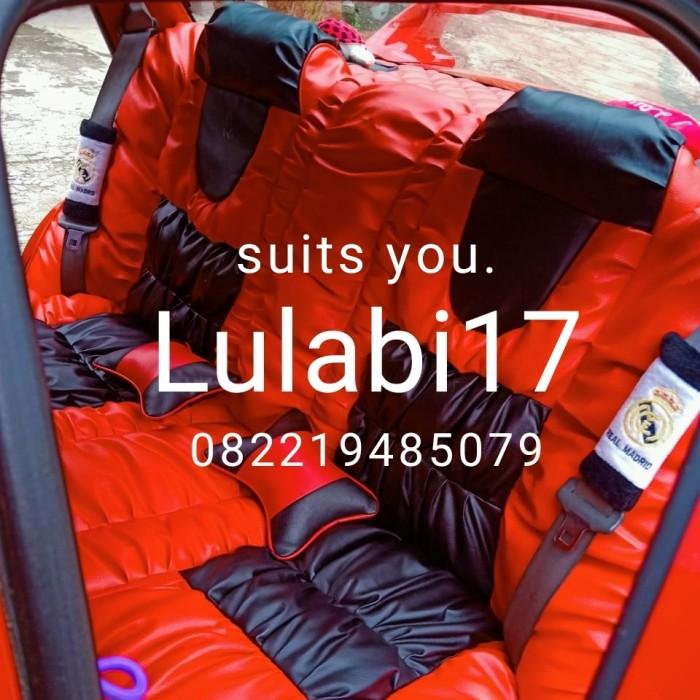 Foto Produk Cover Jok / Sarung Jok model sofa Mobil 2 baris (agya, ayla, brio dll) dari Lulabi17