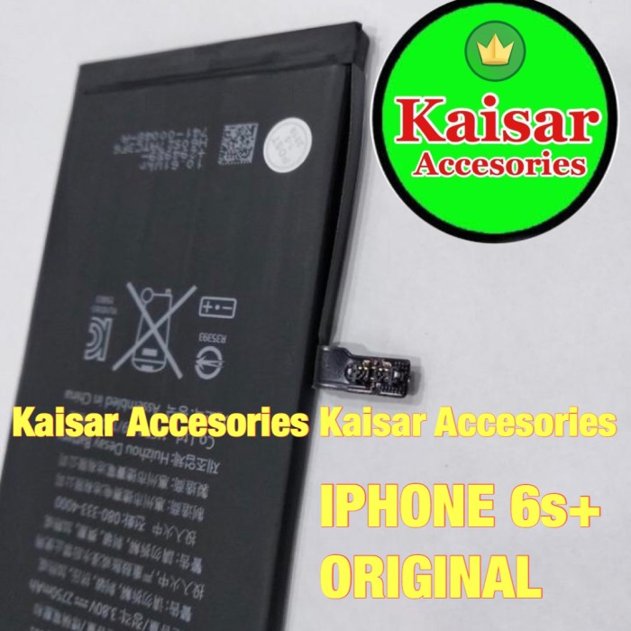 Foto Produk BATERAI IPHONE 6s+ 6sPLUS ORIGINAL BATTERY BATRE IPHONE 6s+ ORIGINAL dari Kaisar Accesories