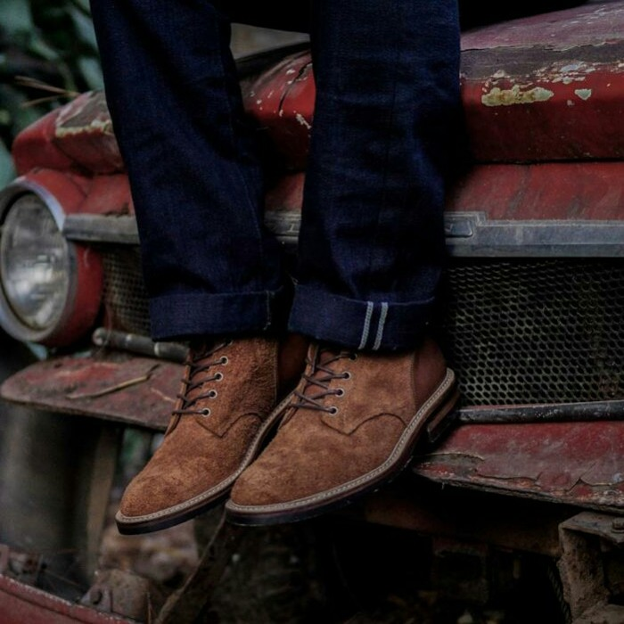Foto Produk SVC01 Boondocker Boots - Rough out tan, 39 dari ODH Leatherstore