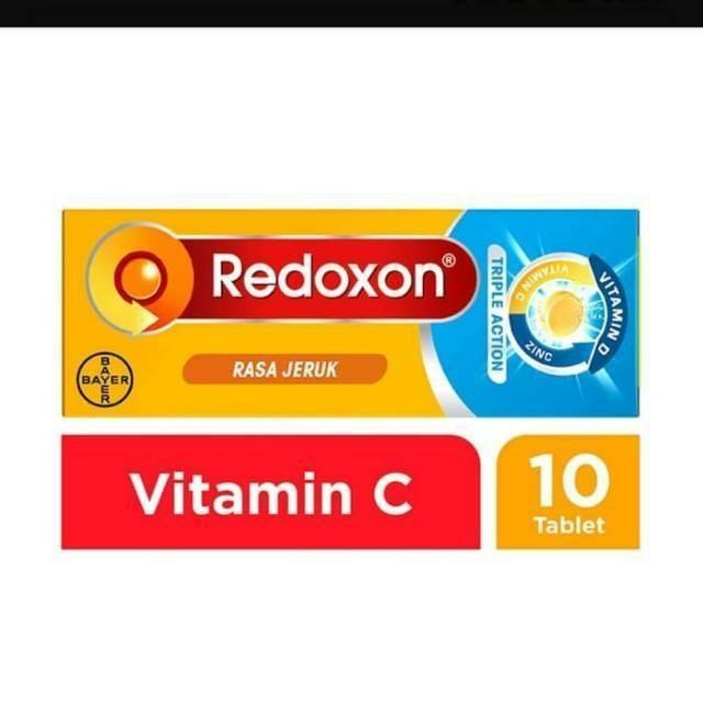 Foto Produk redoxone triple action 10 tablet / redoxon triple action 10 dari WTCSTORE