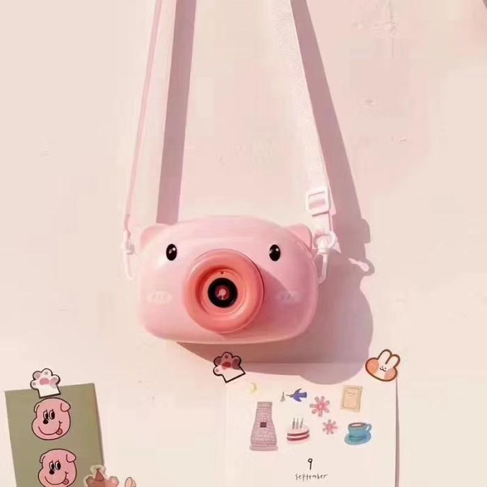 Foto Produk READY STOCK !! Pig Bubble camera / Kids Baby bubble maker machine dari EJ shoppe