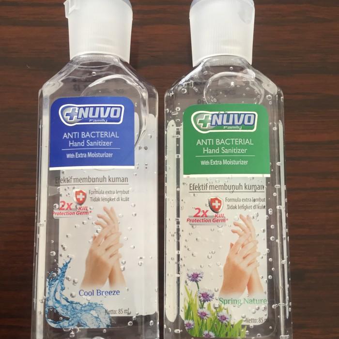 Foto Produk Nuvo hand sanitizer 85ml dari Bigzozo Online Store