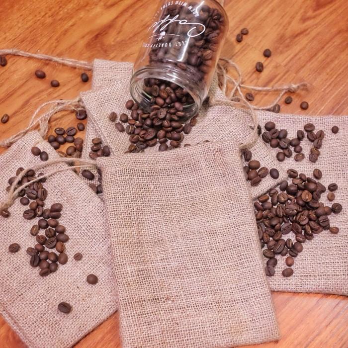 Foto Produk Kantung Goni 10x15 cm - Pouch Karung Goni - Kantong Bunga - Burlap dari Rumah Karung Goni