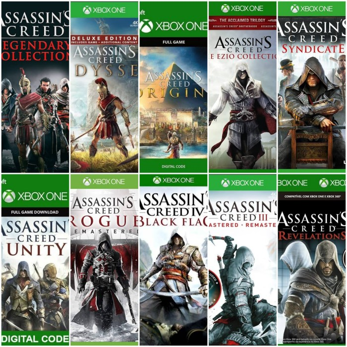 Jual Assassin S Creed Legendary Collection Odyssey Origins Dll
