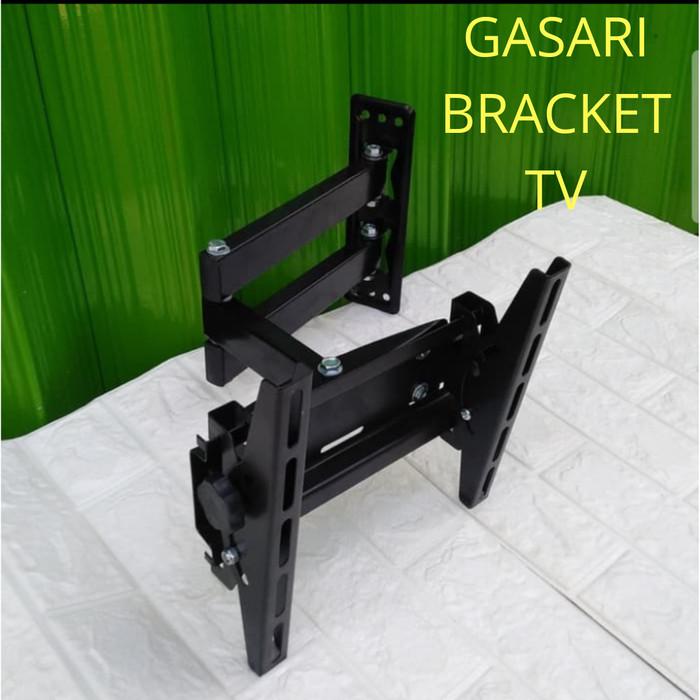 Foto Produk Bracket braket breket tv 32 40 42 43 inch swivel lengan 4 arah dari Gasari Bracket tv