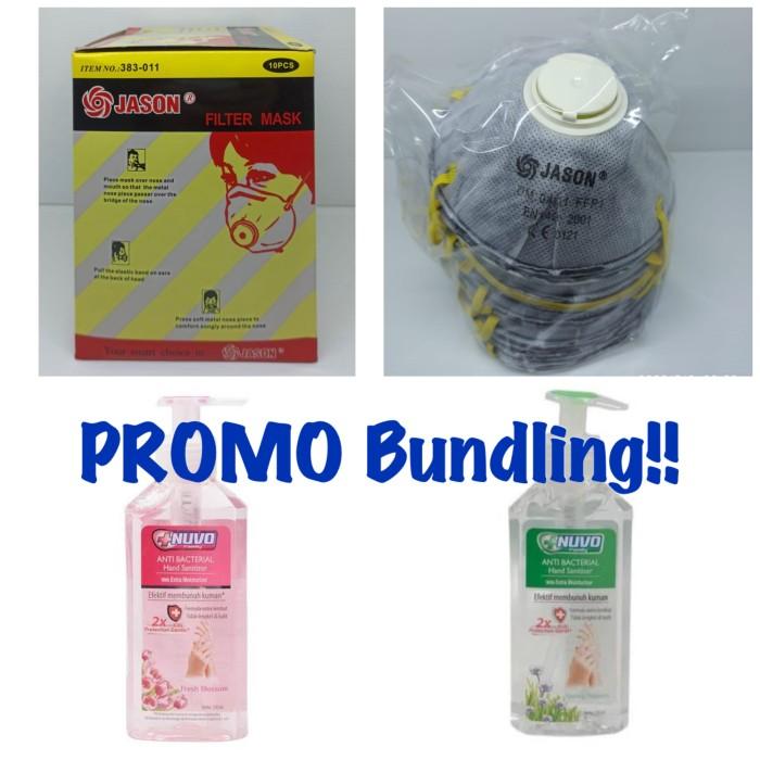 Foto Produk PROMO!! Beli masker N95 Free NUVO hand sanitizer dari Deliboxx