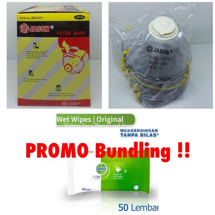 Foto Produk PROMO!! Beli masker N95 Free tissue DETTOL dari Deliboxx