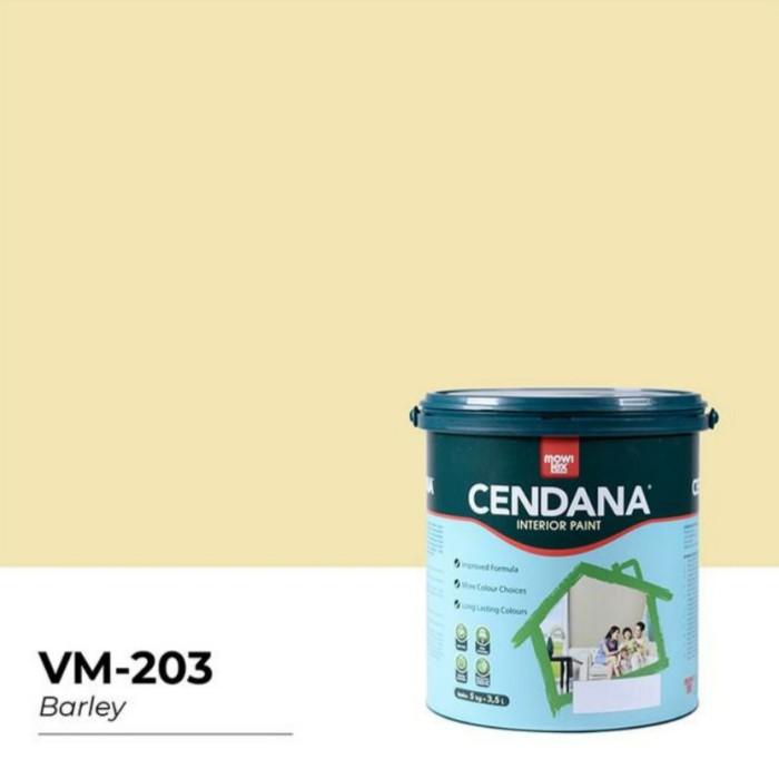 Jual Cat Tembok Mowilex Cendana warna BARLEY 203 ukuran ...