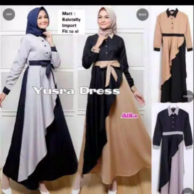 Jual Baju Muslim Wanita Remaja Terbaru Baju Gamis Remaja Kab Bandung Diesa Store Tokopedia