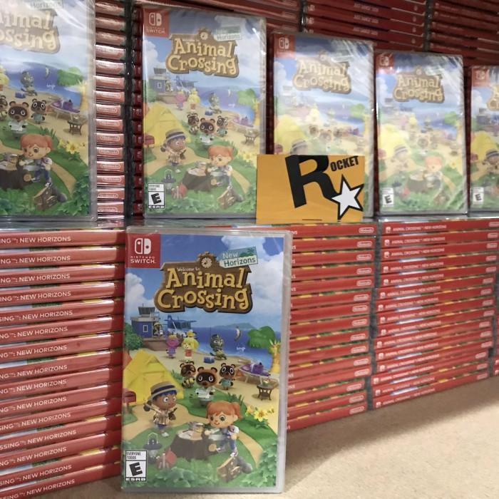 Foto Produk Nintendo Switch Animal Crossing New Horizons USA / MDE dari Rocket games