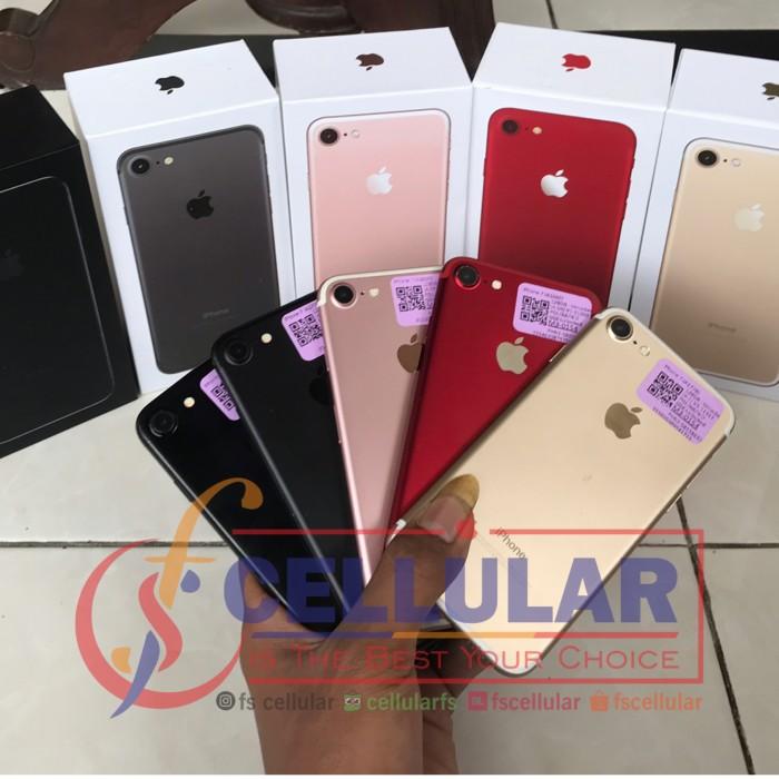 Foto Produk Apple Iphone 7 128gb ori fullset murah dari cellularfs