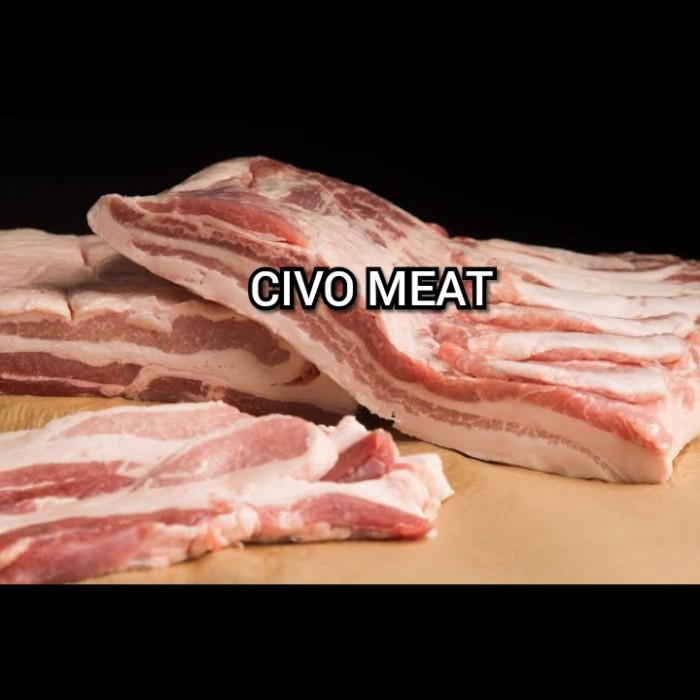 Foto Produk Daging Babi FRESH Samcan / Pork Belly 1 kg dari CV Civo Meat