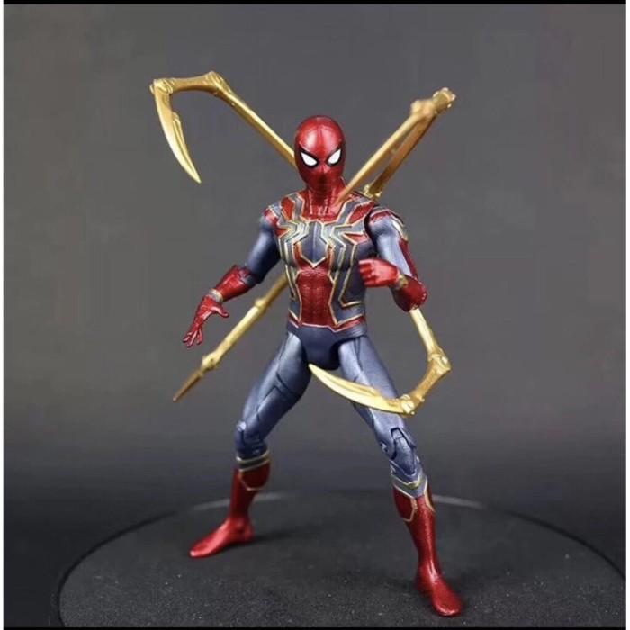 Foto Produk Iron Spiderman Avengers Infinity War Action Figure / Mainan dari Waroeng Figure