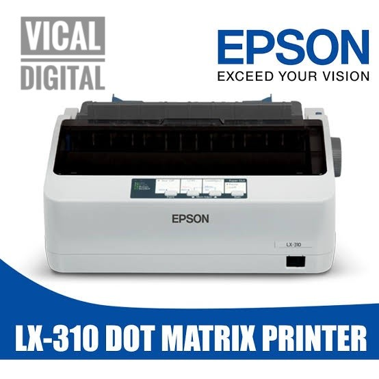 Jual Printer Epson Lx 310 Dot Matrix Kota Madiun Vical Digital Tokopedia