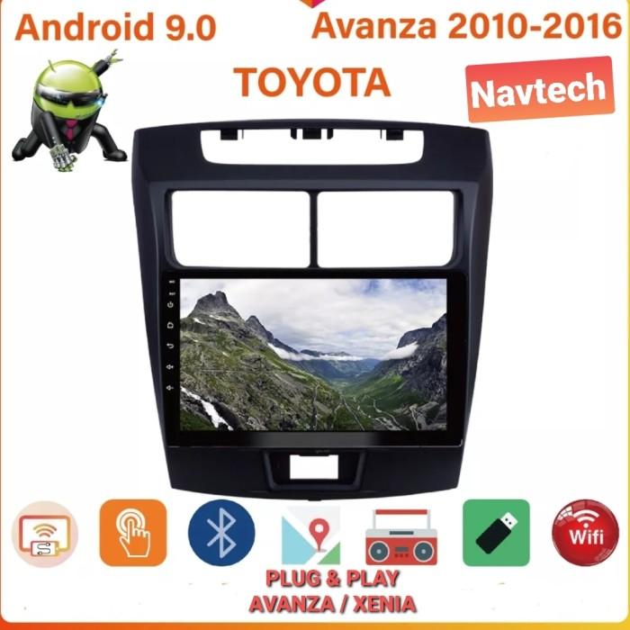 Foto Produk Head unit android 9 inch 2GB toyota avanza / Head unit avanza / xenia - 2GB 16GB dari Navtech