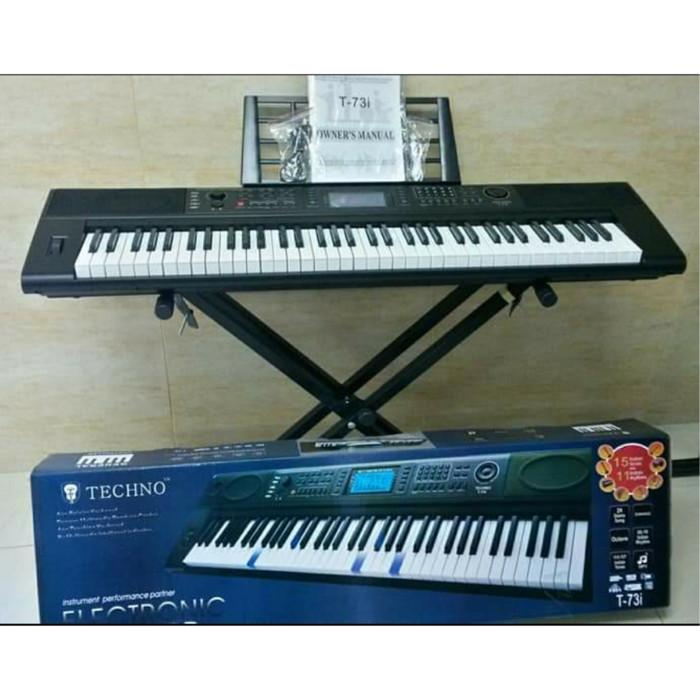 Jual Seri Terbaru Keyboard Techno T 73i T73i T73 6 Oktaf Jakarta Barat First Audio Pro Tokopedia