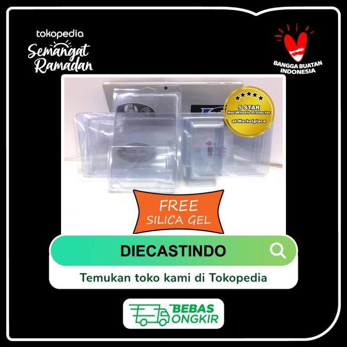 Foto Produk Hotwheels / Hot Wheels Regular Protector / Protektor Polos Tanpa Merek dari Diecastindo