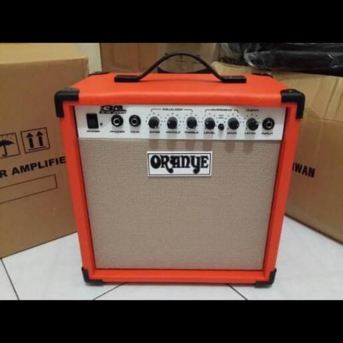 Foto Produk ampli oranye 8 inch distortion dari JakartaUndercover.id
