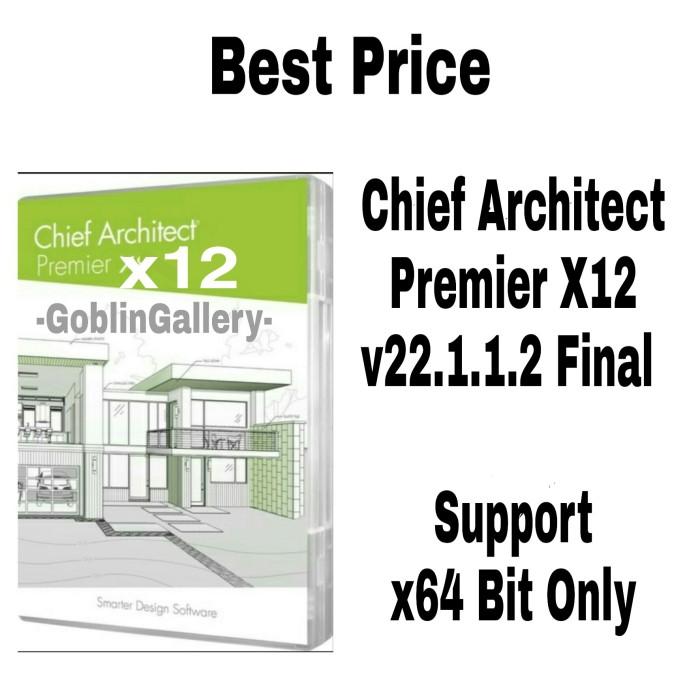 Jual Chief Architect Premier Final Full Always Update Kab Bandung Goblin Gallery Tokopedia
