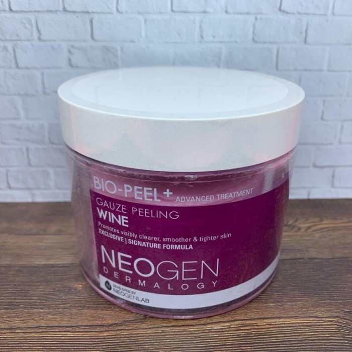 Foto Produk Neogen Bio-Peel+ Gauze Peeling Wine 200ml 30pads dari your pretty treasure