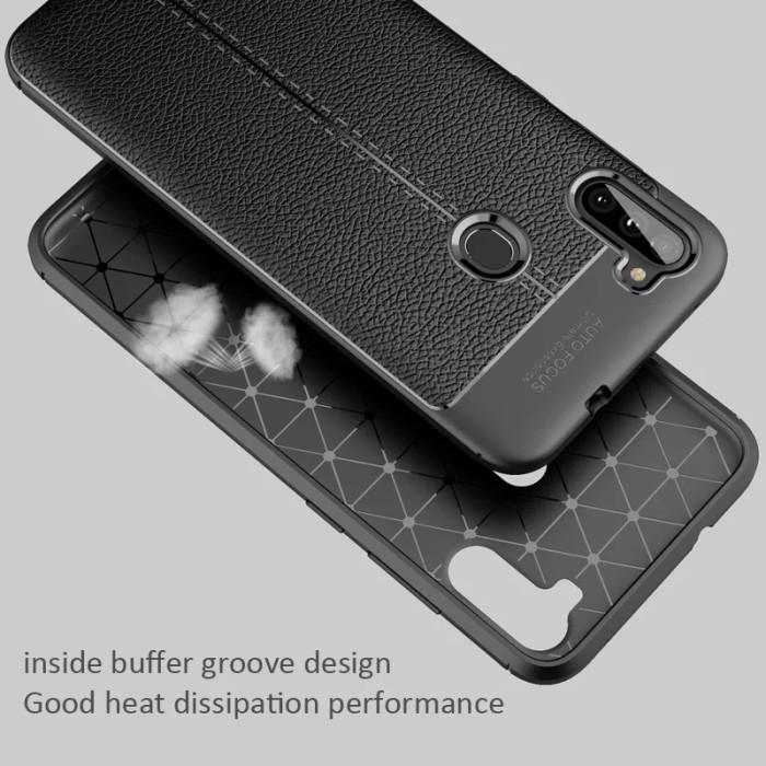 Foto Produk Samsung A11 Case Casing Auto Focus Hitam Softcase Jellycase Persisi dari matahari aksesoris