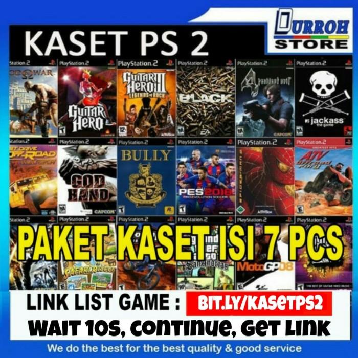 Foto Produk Kaset Ps 2 Paket isi 5 pcs ( 5 buah ) dari Durroh Store