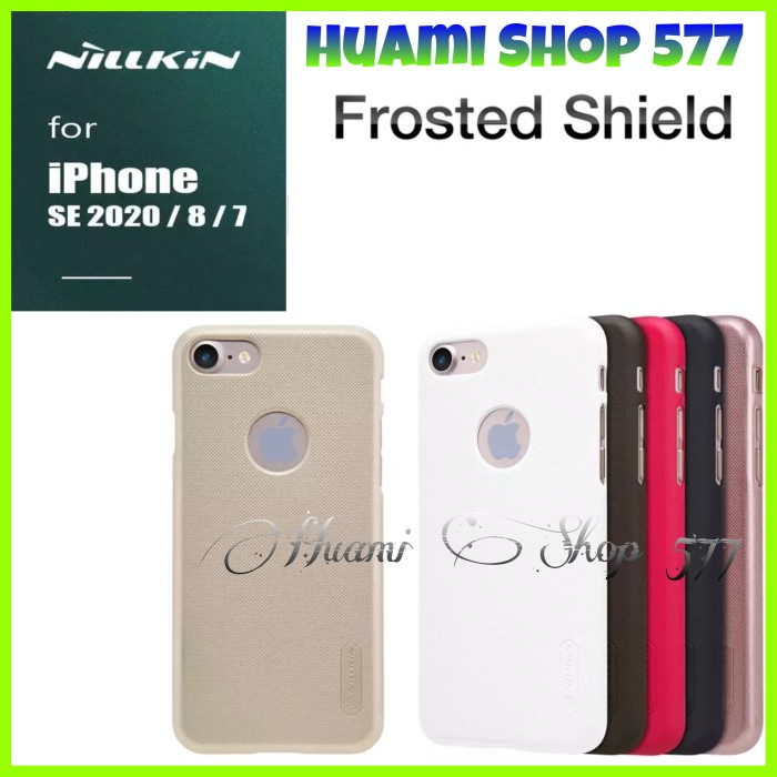 Foto Produk Iphone SE 2020/SE2/7/8 Case Frosted Shield Original Hard Case Cover Pc dari Huami Shop 577