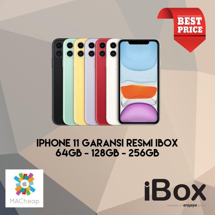 Foto Produk iPhone 11 64GB 128GB 256GB Garansi Resmi iBox NEW BNIB - Merah, iPhone 11 64GB dari MACheap