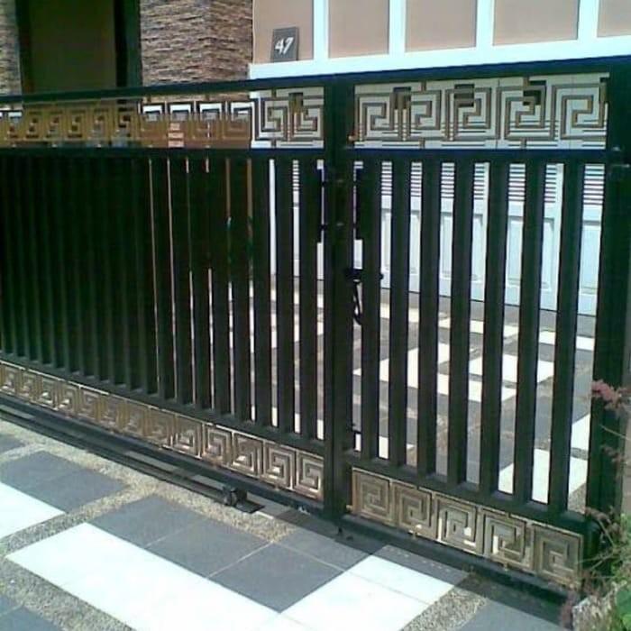 Jual Pintu Pagar Tralis Kanopi - Kab. Tasikmalaya - Lis Jaya Mandiri |  Tokopedia