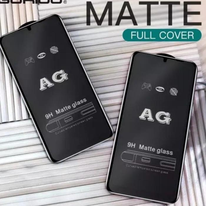 Foto Produk Tempered Glass Glare Matte anti minyak REALME 5 5i anti gores kaca dari Multi Store 12