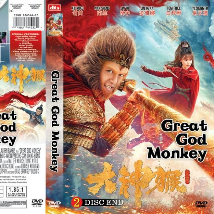 Jual Dvd Original Film Action Mandarin Great God Monkey Hd Sub Indo Jakarta Barat La Store Id Tokopedia