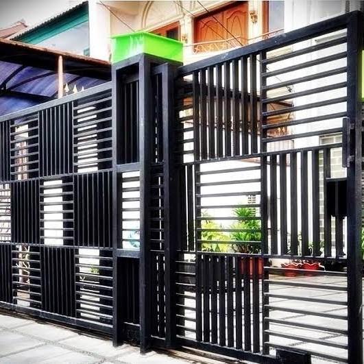 Jual Pintu Pagar Minimalis - Kab. Tasikmalaya - Lis Jaya Mandiri | Tokopedia