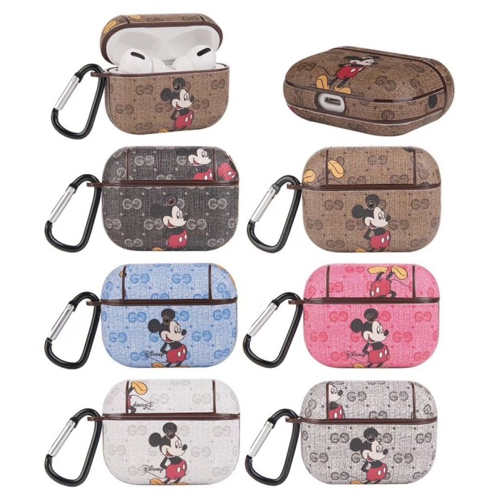 Jual Case Airpods 1 2 3 Pro Gucci Mickey Mouse Casing Jakarta