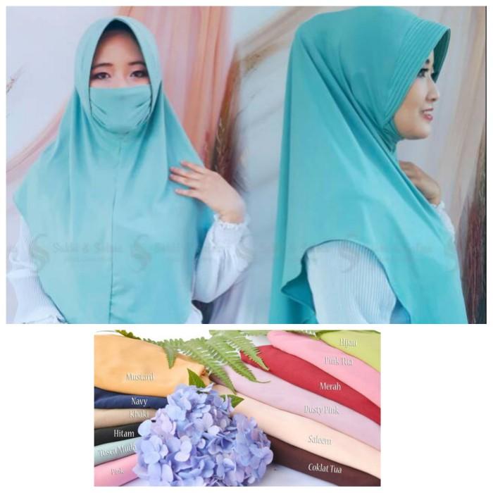 Jual Hijab Masker Jilbab Masker Kerudung Syari Instan Masker Navy Kab Bandung Ns Store Tokopedia