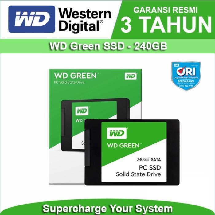 Foto Produk SSD 240 GB WD GREEN GARANSI RESMI dari DigitalE-