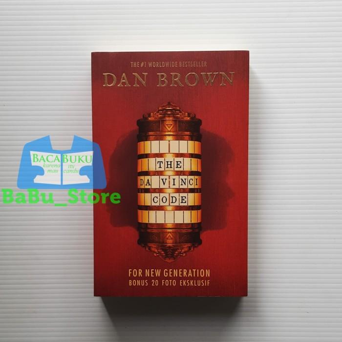 Foto Produk Buku THE DA VINCI CODE Dan Brown Original dari BaBu Store
