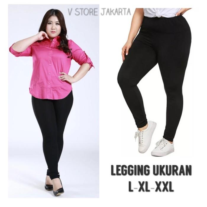 Jual Celana Legging Polos Wanita Perempuan Dewasa L Xl Xxl Ukuran L Jakarta Pusat V Store Jakarta Tokopedia
