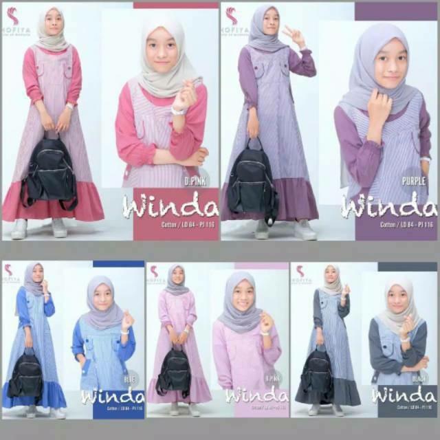 Jual Baju Gamis Remaja Modern Model Tebaru Dress Muslim Wanita Remaja Biru Allsize Kota Semarang Unggul Shopping Tokopedia