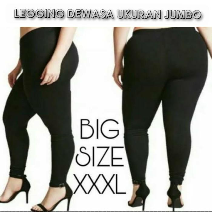 Jual Celana Legging Jumbo Ukuran Besar Big Size Xxxl Jakarta Pusat V Store Jakarta Tokopedia