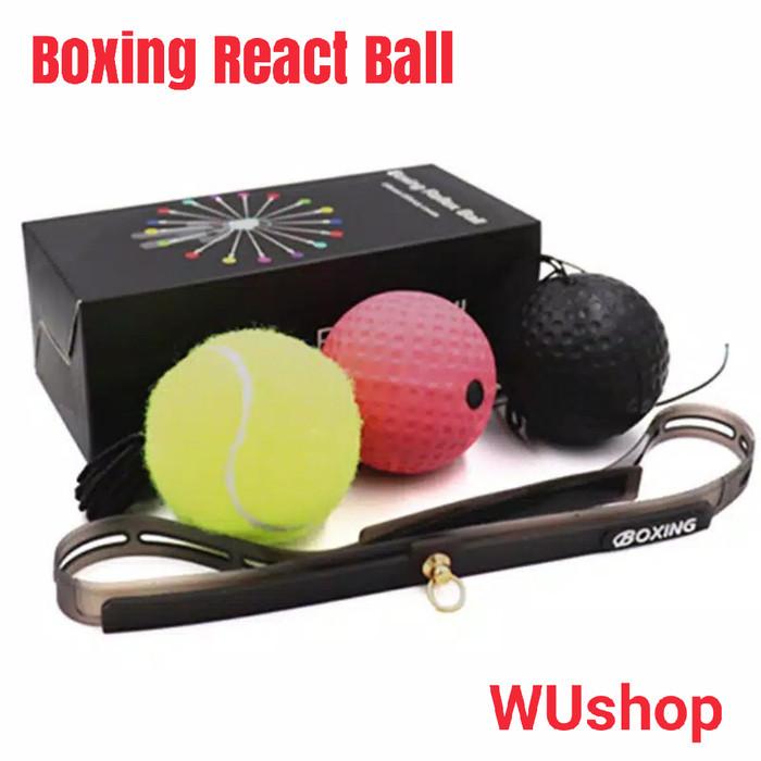 Foto Produk Flexi speed punching head ball boxing muaythai kickboxing mma dari tokobeladiri