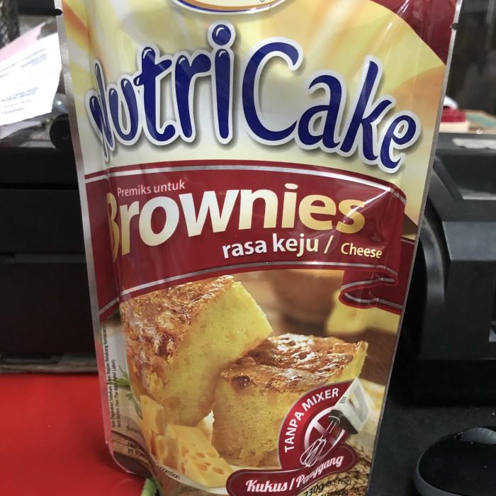 Foto Produk Nutri cake brownies keju 230 gram nutricake nutrijel cheese dari Varia Baking Store - TBK
